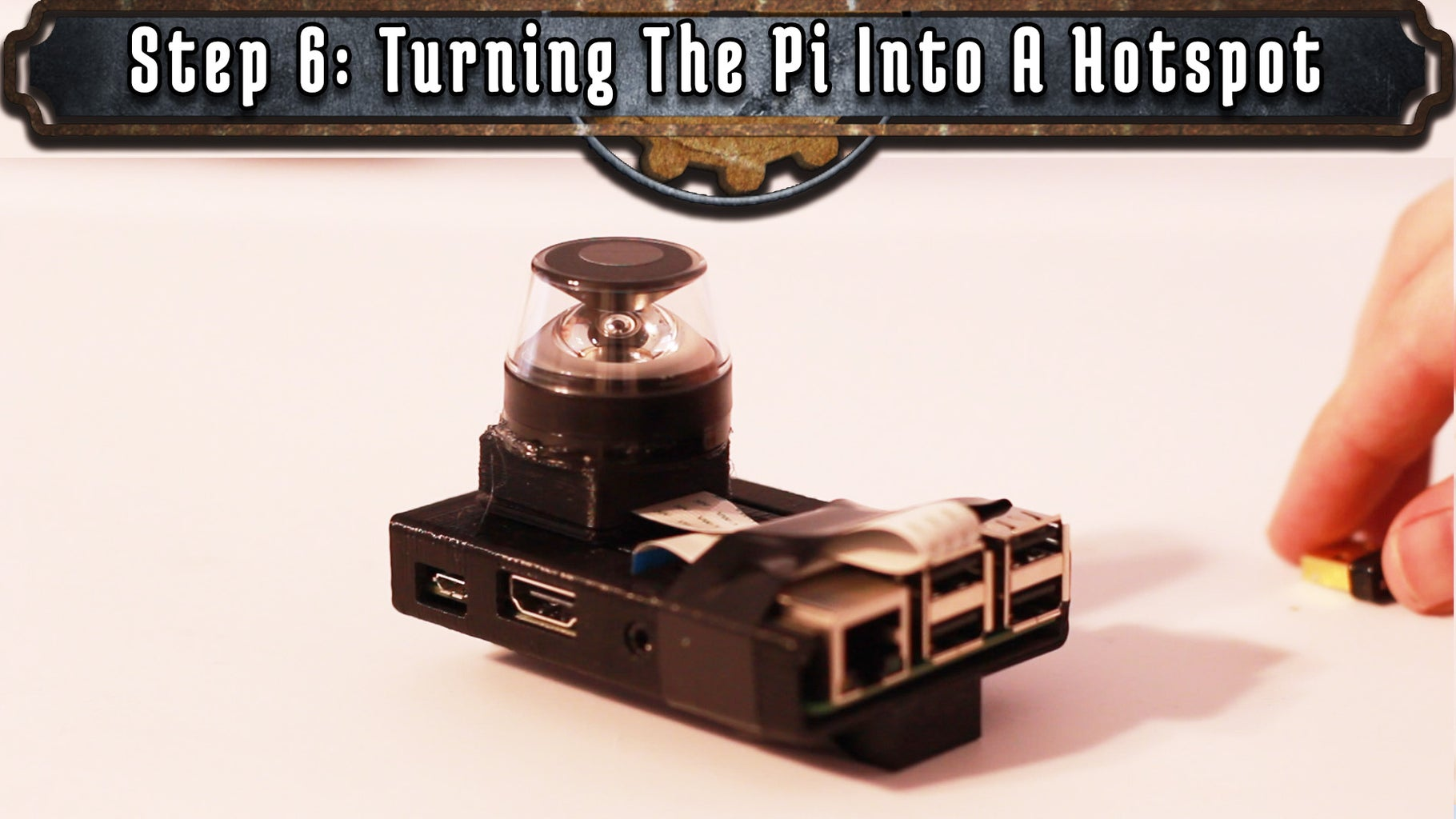 Turning the Pi Into a Hotspot