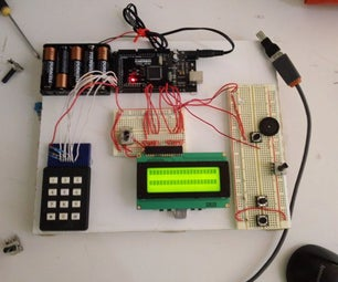 Password Lock With Arduino