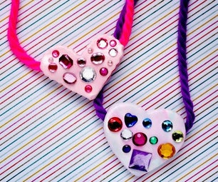 Color Me Happy Heart Pendants