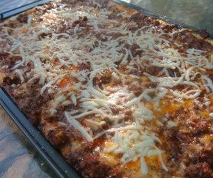 8 Pound Lasagne