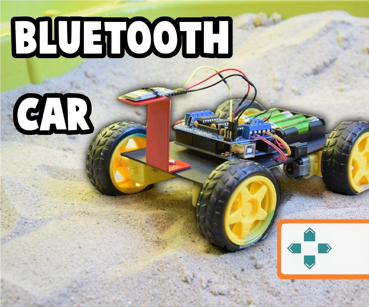 Simple CAR Arduino Bluetooth Controlled
