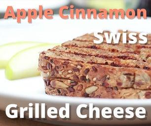 Apple Cinnamon Swiss Grilled Cheese