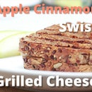 Apple Cinnamon Swiss Grilled Cheese