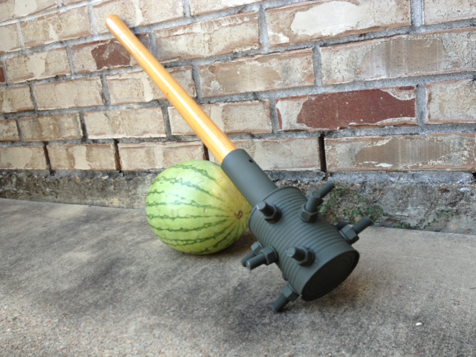 Watermelon Smasher (Post-Apocalyptic Spiked Mace)