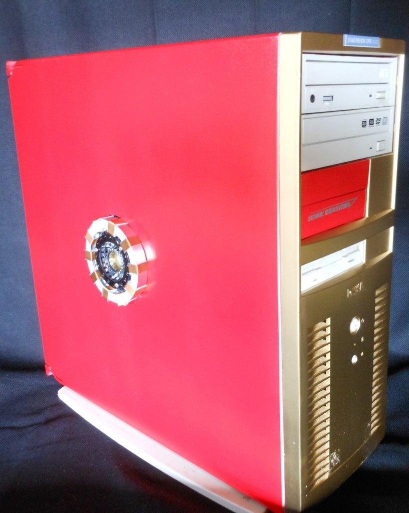 Iron Man DIY PC Case Mod