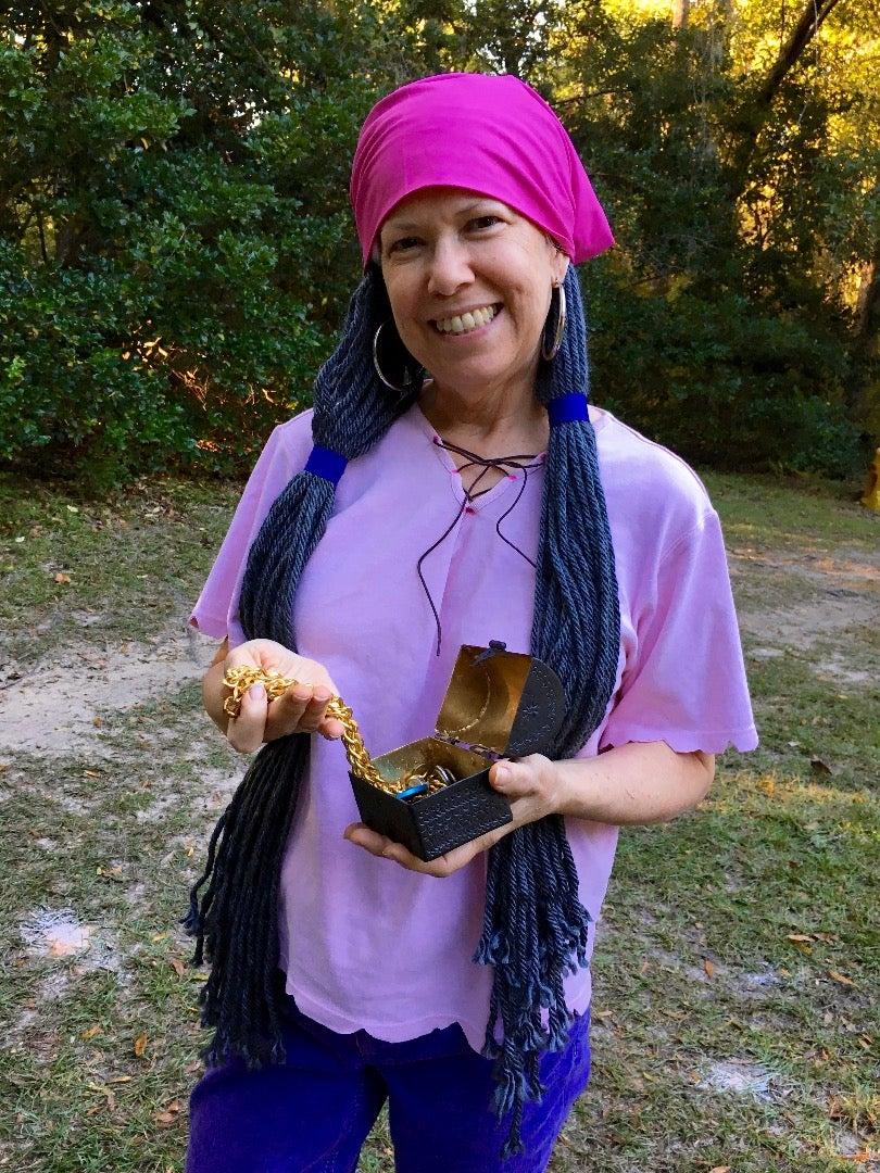 Izzy Costume With Yarn Hair