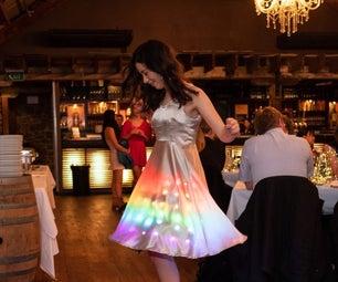 Programmable Light Up Matrix Dress