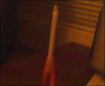 Paper and Straw Rocket