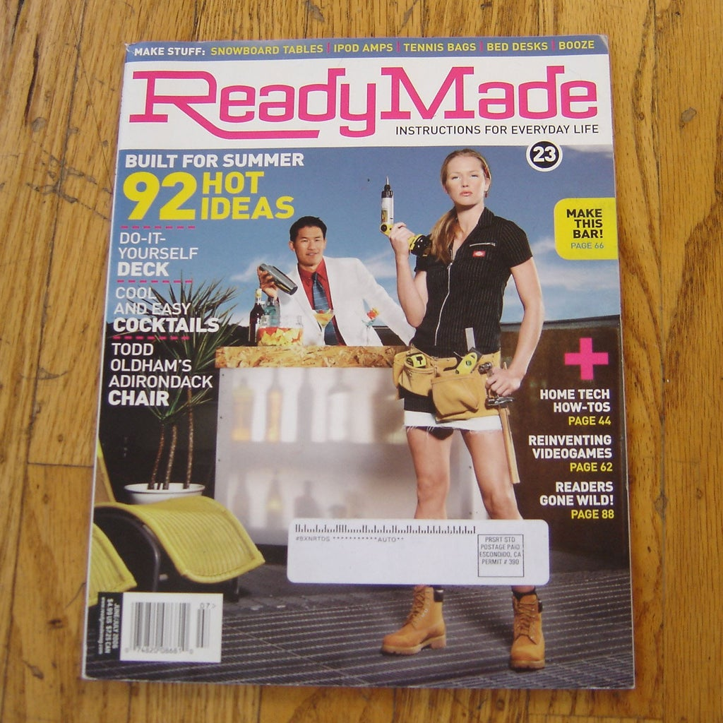 How to Read ReadyMade Magazine