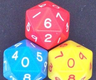 Java Code/Program - Area and Volume of Icosahedron (20 Sided Sphere)