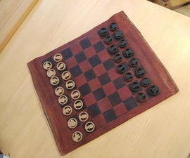 Leather Travel Chess Board