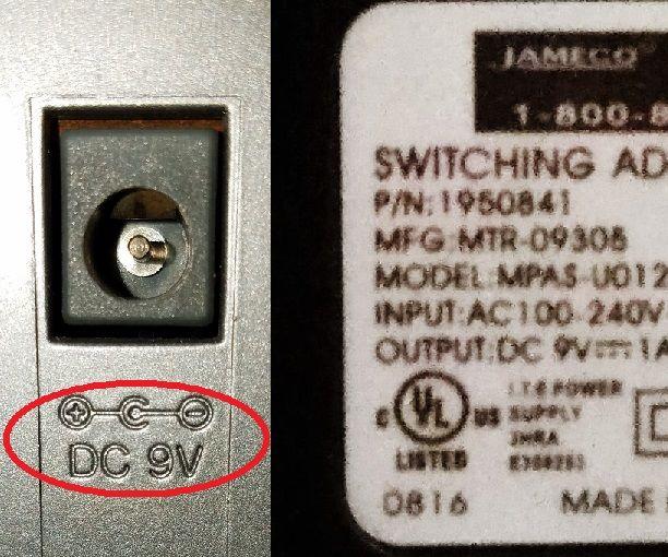 Polarity-Reversing DC Extension Cord