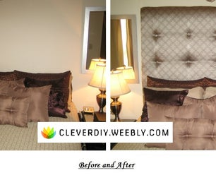 DIY High-Back Upholstered Headboard (With Instructions)