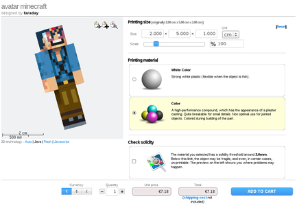 Order Your 3D Avatar