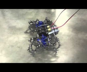 Theo Jansen Inspired Walking Robot Insect