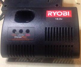 Modify Ryobi Charger for Li Battery