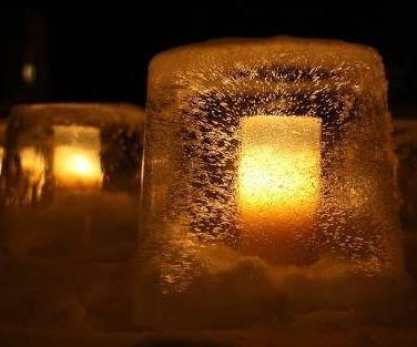 Ice Lanterns !