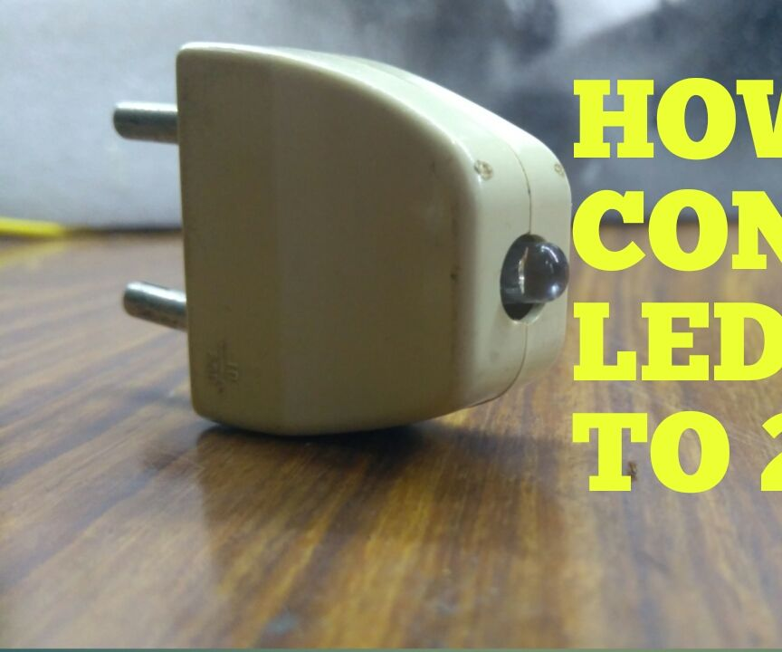 How to Connect Led Light to Ac Power