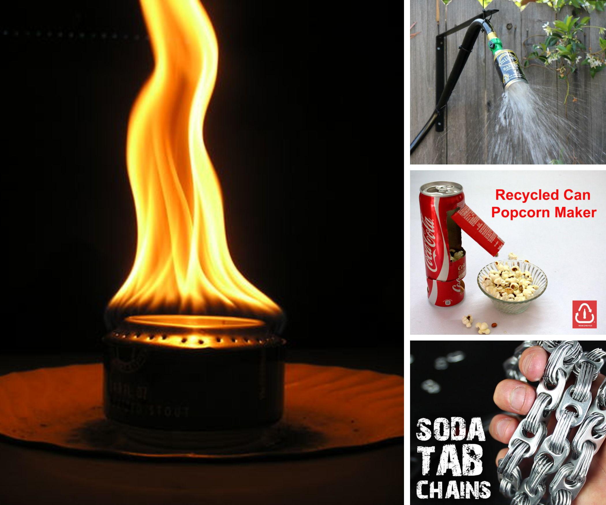 9 Genius Soda Can Hacks