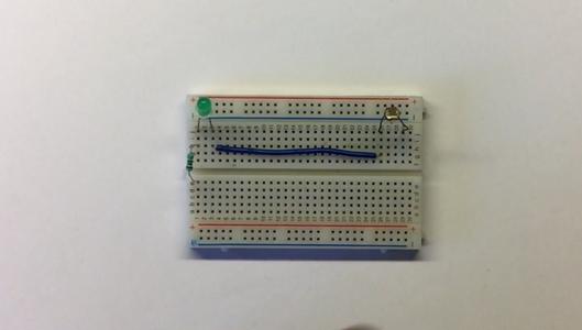 Making the Prototype on Breadboard