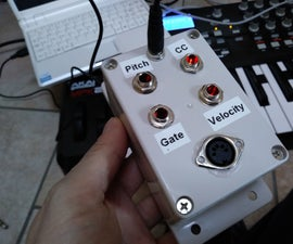 Another MIDI to CV Box