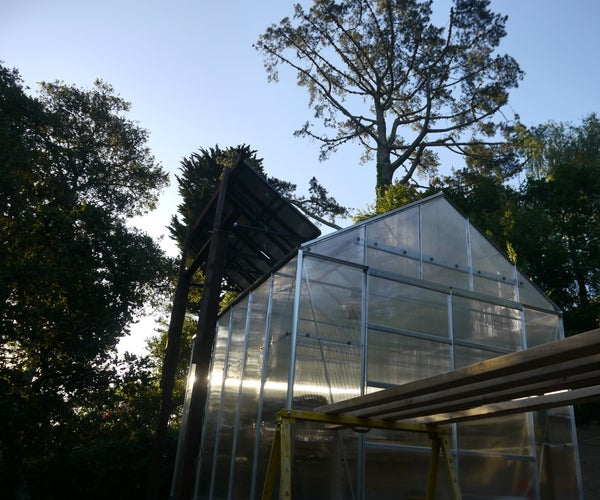 Build a Greenhouse With Solar Powered Ventilation