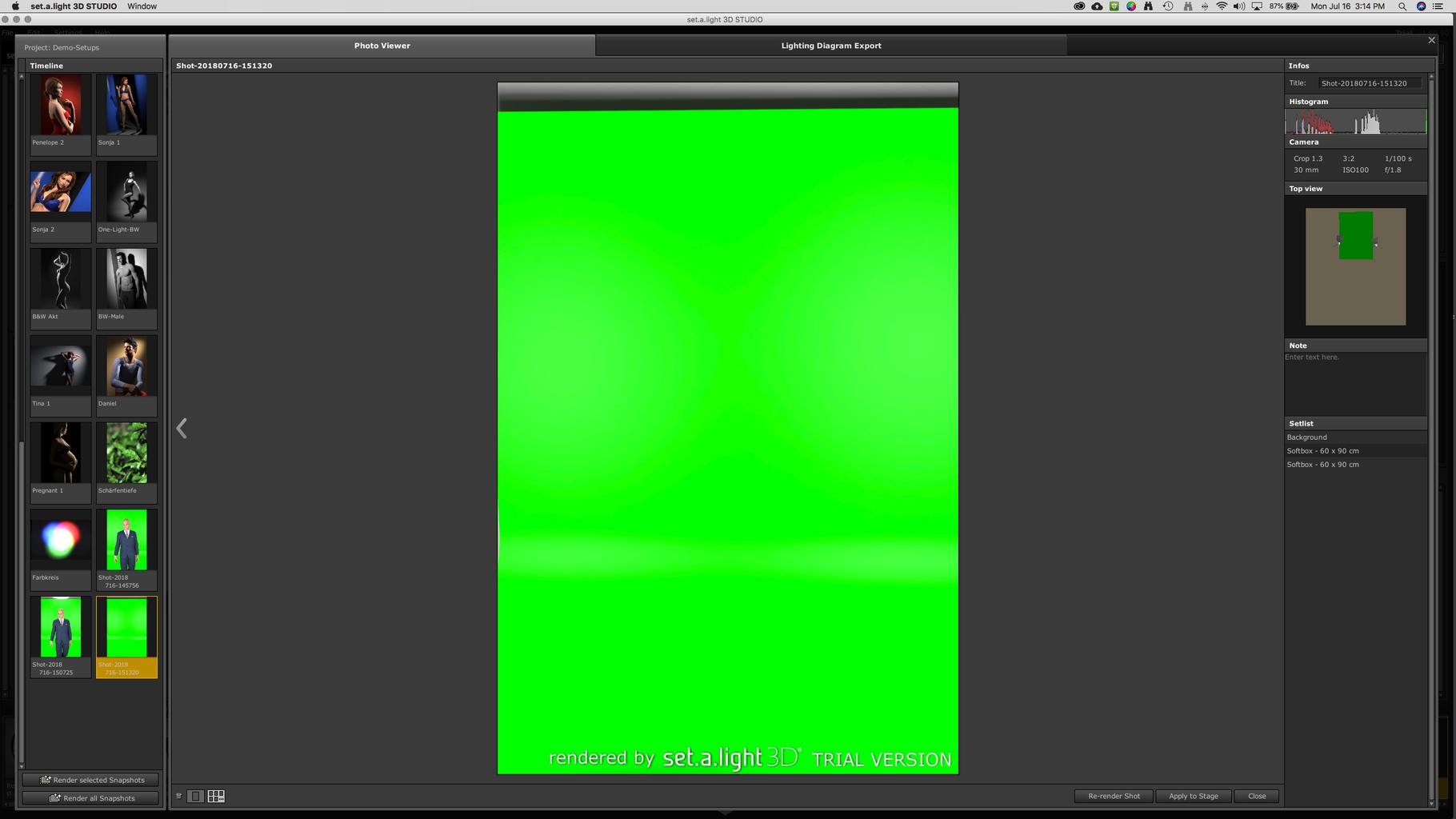 Lighting Your Green Screen