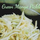 Asian Recipes: Crunchy Green Mango Pickles (Jeruk Mangga)