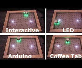 Arduino互动LED咖啡桌