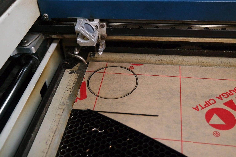 Laser Cut the Top Piece