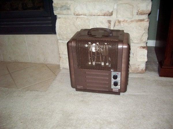 Old Rusty Heater Resurrected