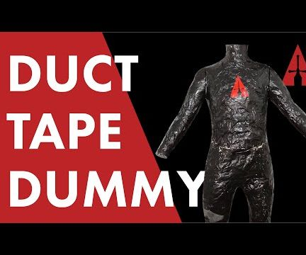 How to Make a Duct Tape Mannequin/Dummy