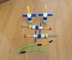 Knex Attack Belt With Attachments.