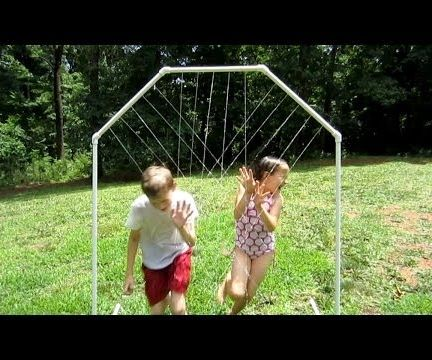 How to Make a Homemade Water Park With PVC