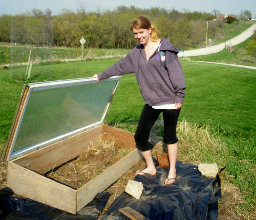 Build a Cold Frame with Recycled Materials