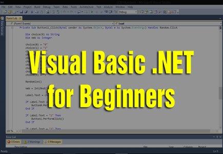 Learning Visual Basic .NET for Beginners