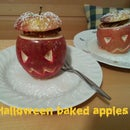 How to make Halloween Baked Apples