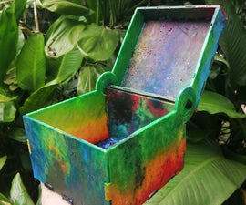 Upcycled Plastic to Laser Cut Boxes (to Store More Plastic!)