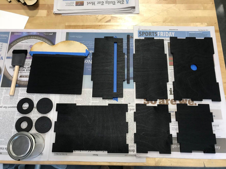 Step 3: Paint the Inside Black