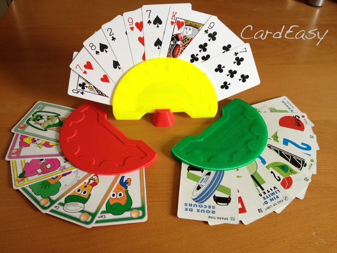 Make a 3D printed playing card holder - CardEasy