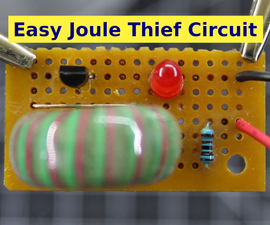Easy Joule Thief Circuit