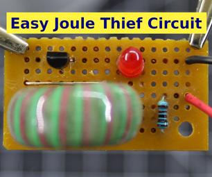 Easy Joule Thief Circuit