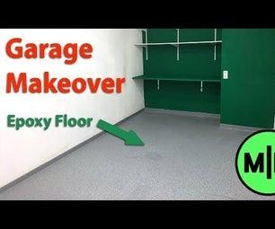 Epoxy Resin Workshop Floor