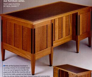 How to Build a Mahogany Desk