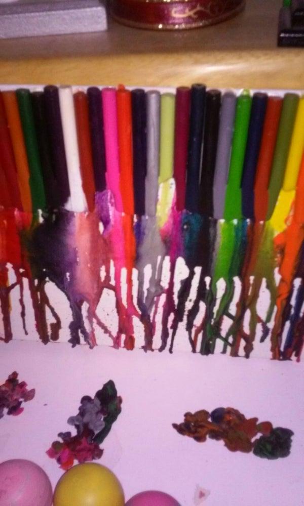 Crayon Melty Art