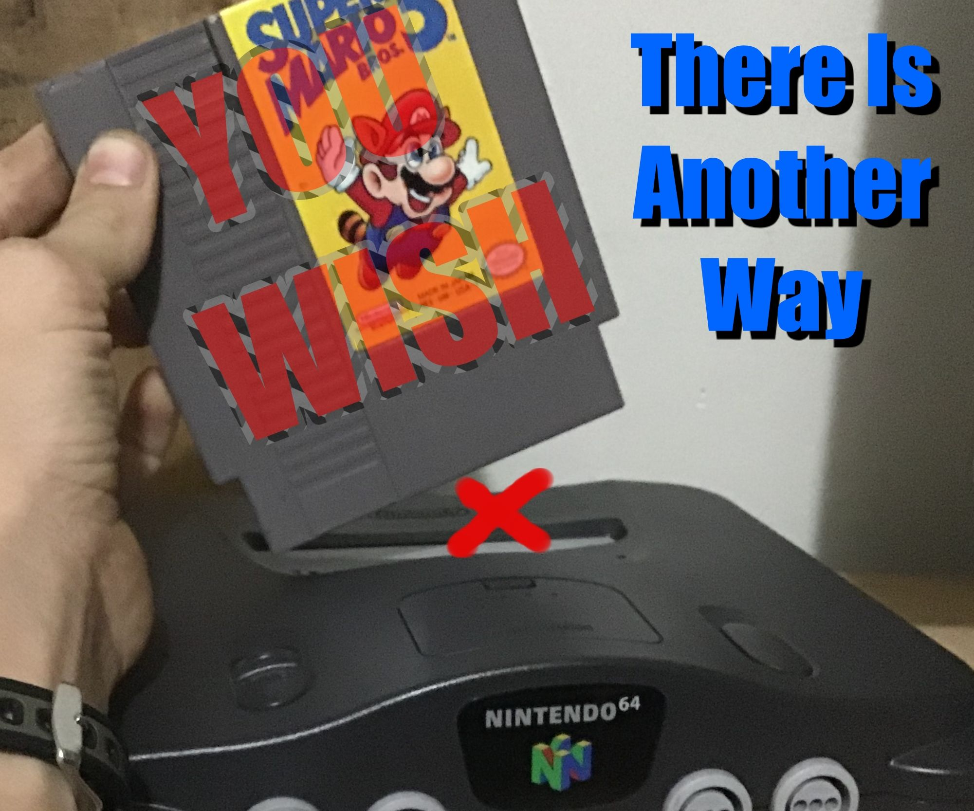 Emulate NES Games on Your N64 With Emu Download