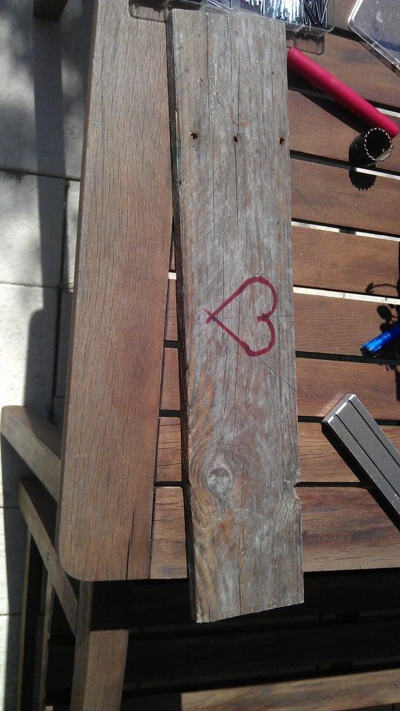 Making the Heart-shaped Hole (Optional)