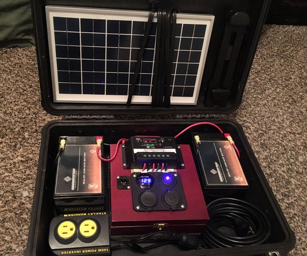 Pelican 1500 Solar Battery Bank