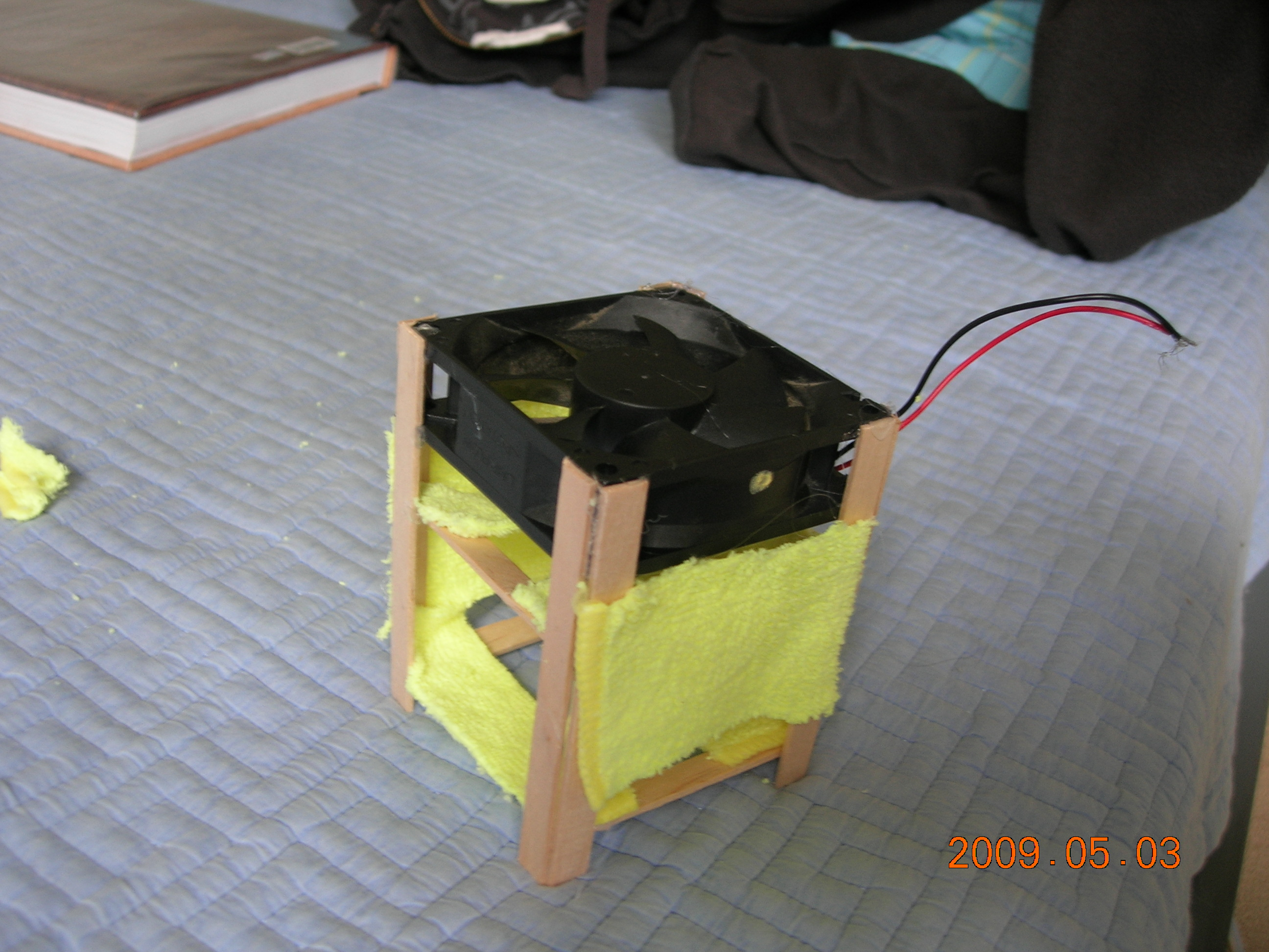Mini Solar Air-Conditioner (a.k.a Swamp cooler)