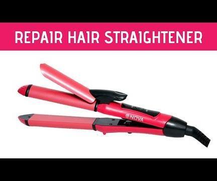 How to Repair Hair Straightener at Home